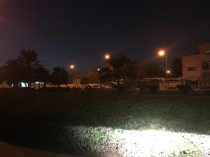 The park facing the Indian Embassy, in Hilal area, Doha, is often used as a 'shelter' by migrants in distress.