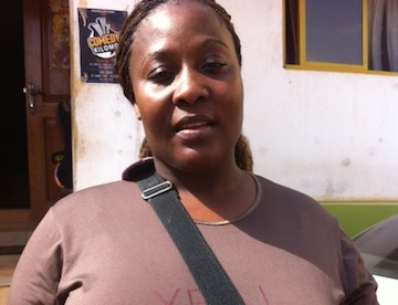 Fatuma in Uganda