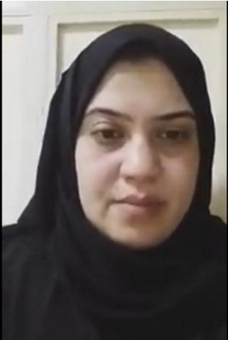أسماء عبدالفتاح كامل في حوار تلفزيوني