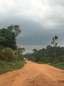 The road to Luweero