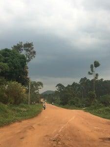 The road to Luweero