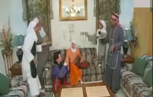 A scene from the Saudi TV serial Tash Ma Tash