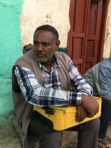 Bedru Sofi after 23 years in Saudi Arabia faces a bleak future for himself and his daughters in Ethiopia