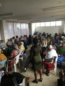 The savings and credit association in Addis Ketama also talks to the community about migration