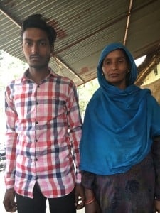 Nisar's mother had borrowed money from neighbours to send him abroad, and is overwhelmed with the laundry list of problems in front of her.