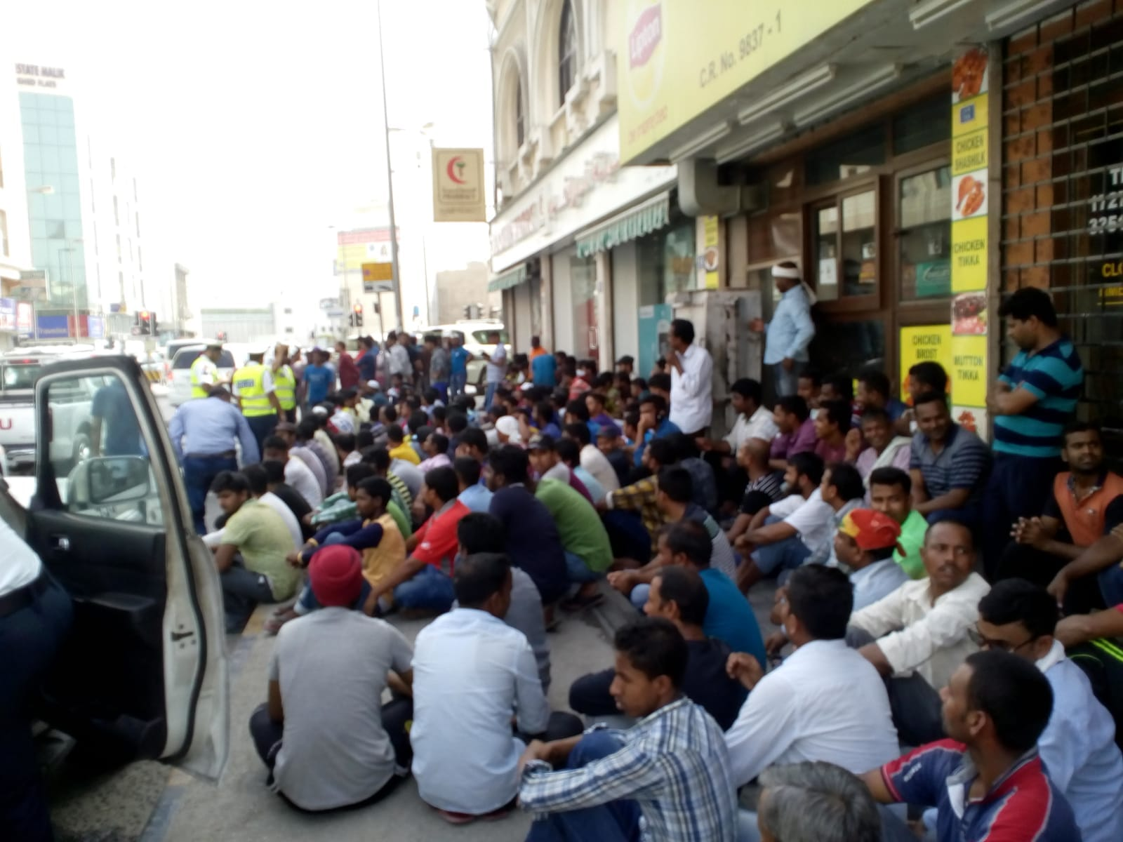 450 workers stranded in Bahrain as construction companies default on