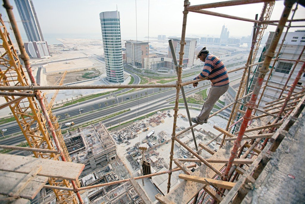 Image result for images migrant workers in construction industry